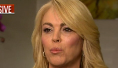 Dina Lohan's crack-proof is in the facts: 'I hate cocaine. I   don't do cocaine.'
