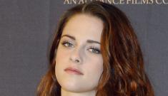 Kristen Stewart in 'illusion' Julien MacDonald in Madrid: budget or cute?