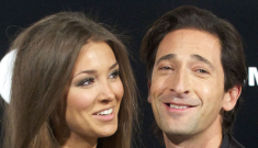 Adrien Brody's girlfriend Lara Lieto has crazy long hair: extensions or natural?