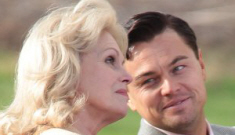 Leonardo DiCaprio made out with 66-year-old Joanna Lumley (Patsy Stone!)