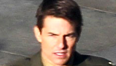Tom Cruise filmed 'All You Need is Kill' all weekend despite alleged visit w/Suri