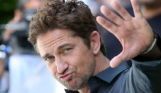 Gerard Butler learned to flirt when he was 14 years old, hasn't learned anything since