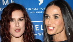 "Demi Moore's daughters are ""begging her to get over Ashton and move on"""