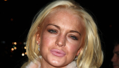 Lindsay Lohan was arrested for third-degree assault in a NYC club, of course