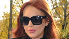 Lindsay Lohan was just charged with three crimes today in LA, Merry Christmas!