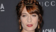 "Sean Penn still pursuing Florence Welch because he loves ""fiery young women"""