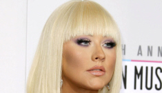 Does Christina Aguilera wear 'silicone butt pads' to make her booty look rounder?