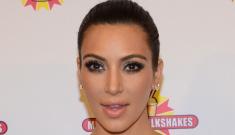 Kim Kardashian wore a figure-hugging cut-out dress in Kuwait: inappropriate?