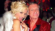 Hugh Hefner wants to impregnate one of his girlfriends