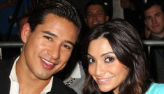Mario Lopez marries baby-mama Courtney Mazza, hope it doesn't get annulled