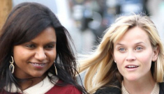 Reese Witherspoon & Mindy Kaling are friends?  When did that happen?
