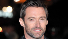 Hugh Jackman looks grizzled at the UK 'Les Mis' premiere: would you hit it?