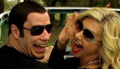 Olivia Newton-John & John Travolta's 'I Think You Might Like It' video: no words?