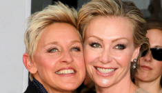 "Ellen DeGeneres & Portia de Rossi are ""on the rocks"" because they're so rich"