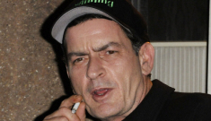 """Charlie Sheen wants to be a """"sugar daddy"""" to his new goddess, Lindsay Lohan"""