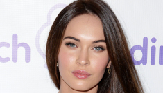 Megan Fox in white lace at the March of Dimes event: gorgeous or cheap-looking?