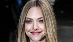 Amanda Seyfried confesses to Dave Letterman she's   drunk, calls it 'liquid courage'