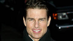 Tom Cruise reads the Top Ten on Letterman