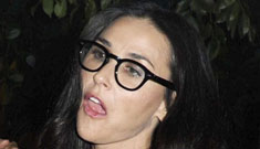 "Demi Moore's daughters are shunning her again, she  ""went off her rocker"""