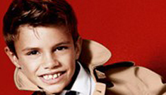 Romeo Beckham, age 10, is a model now for Burberry: too young or too cute?