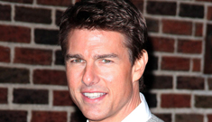 Tom Cruise loses his delicate sensibilities when Letterman drops an F-bomb