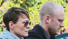 Robin Wright & Ben Foster step out in Santa Monica after nearly a year together