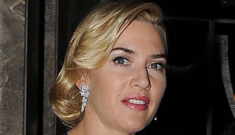 Kate Winslet quietly married Ned RockNRoll in early December in New York