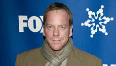 Kiefer Sutherland rescues boy from the top of a cliff