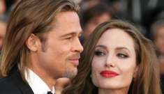 Angelina Jolie thinks Brad Pitt's budget weave is cheesy & unworthy of The Leg