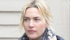 Did Kate Winslet marry Ned RockNRoll because she's preggo?  Probably not.