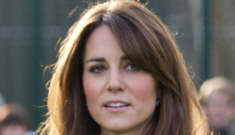 Duchess Kate came to Sandringham after Christmas, just in time for the hunt