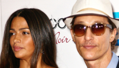 Matthew McConaughey & Camila Alves welcome baby boy Livingston