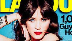 Zooey Deschanel covers Glamour: adorable & lovely or too precious?