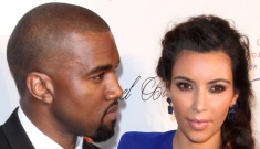 Kim Kardashian is three months pregnant with Kanye West's baby!!