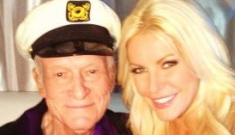 Hugh Hefner & Crystal Harris got married at the Playboy Mansion on NYE