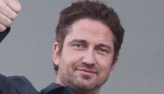 Gerard Butler wants to propose to his Romanian girlfriend & get her pregnant