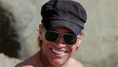 Jon Bon Jovi, 50, shirtless on the beach: would you hit it?