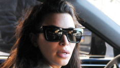 Kim Kardashian is doing Tracy Anderson's prenatal workout plan: bad idea?