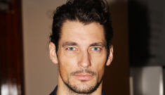 David Gandy refuses to shave his neck fur in London: would you hit it?