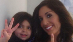 Farrah Abraham waxed her 3- yr-old daughter's unibrow: no big deal or OMG?!