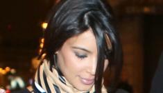 Kanye West took Kim Kardashian to Paris for a shopaholic's babymoon