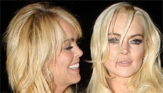 Dina Lohan shows ET photos of her black eye from 1986, why now?