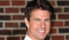 Tom Cruise, politician: 'If f–ing Arnold can be governor, I could be president'