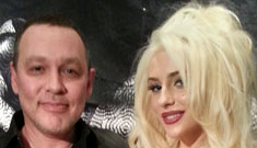 Courtney Stodden and Doug Hutchison hit the red carpet: she's a robot, right?