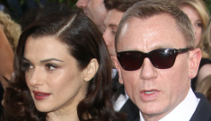 Rachel Weisz (in LV) & Daniel Craig: most disappointing couple at the Globes?