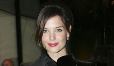 Is Katie Holmes a Stepford wife? (update: nose job)