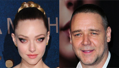 Russell Crowe hit on 'beautiful Rapunzel' Amanda Seyfried, who rejected him