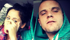 Teen Mom Jenelle Evans confirms her pregnancy with trashy bra & sweatpants pic