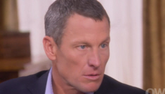Lance Armstrong admits to taking testosterone, EPO & human growth hormone