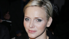 Princess Charlene steps out in Paris for the Versace show: lovely or exhausted?